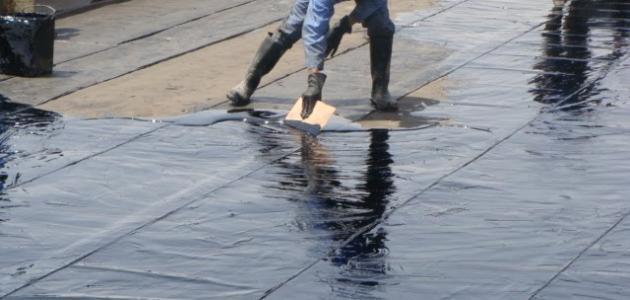 علاج تسرب الماء من السقف و السطح